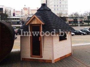 Фото летнего садового гриль-домика для дачи - у нас вы можете купить дачный садовый домик недорого в Минске с доставкой по всей Беларуси!