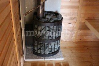 Фото русской бани 2 на 6 метров, у нас вы можете купить русскую баню в Минске с доставкой по всей Беларуси!