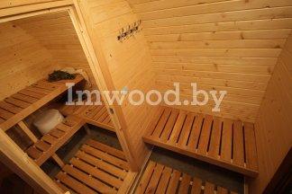 Арочная баня, модель 3,5 метра