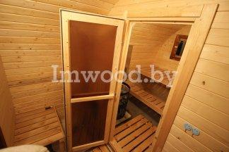 Арочная баня 3м