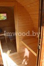 Арочная баня, модель 3 метраАрочная баня, модель 4 метра