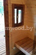Арочная баня, модель 3 метра