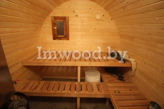 Арочная баня, модель 4 метра