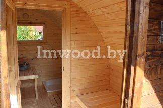 Арочная баня, модель 3 метраАрочная баня, модель 5 метров
