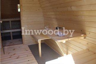 Арочная баня, модель 5 метров