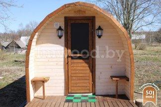 Арочная баня, модель 6 метров