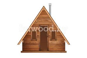 Дом-шалаш