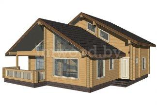 Дом из бруса Адонис