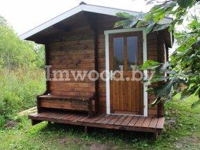 Фото садового летнего домика для дачи - у нас вы можете купить садовый дачный домик в Минске с доставкой по всей Беларуси!