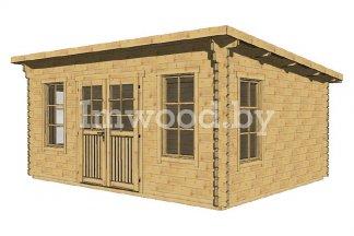 Садовый домик, модель 1.24