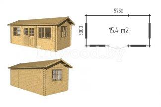 Садовый домик, модель 1.27
