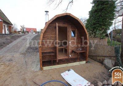 Арочная баня 3 метра