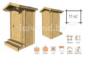 Туалет для дачи