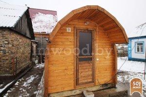 Арочная баня 3,5 метра
