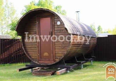 Barrel bath 6 m
