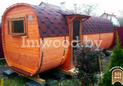 Square bath 6 m with side entrance